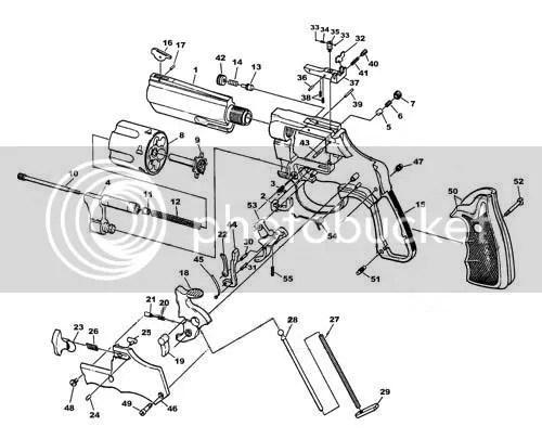 Diagram Revolver Parts Diagram
