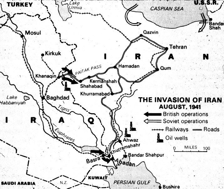 Operation Consent. Entering the Russian troops in Iran in