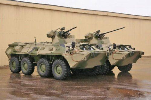 Russian BTR-82 — profound modernization vosmidesyatki — Encyclopedia of safety