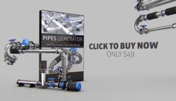The Pixel Lab Air Duct Generator for Cinema 4D - Heroturko