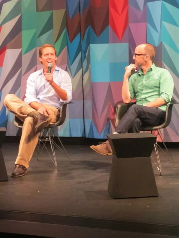 Nat Faxon and Jim Rash at MoMI