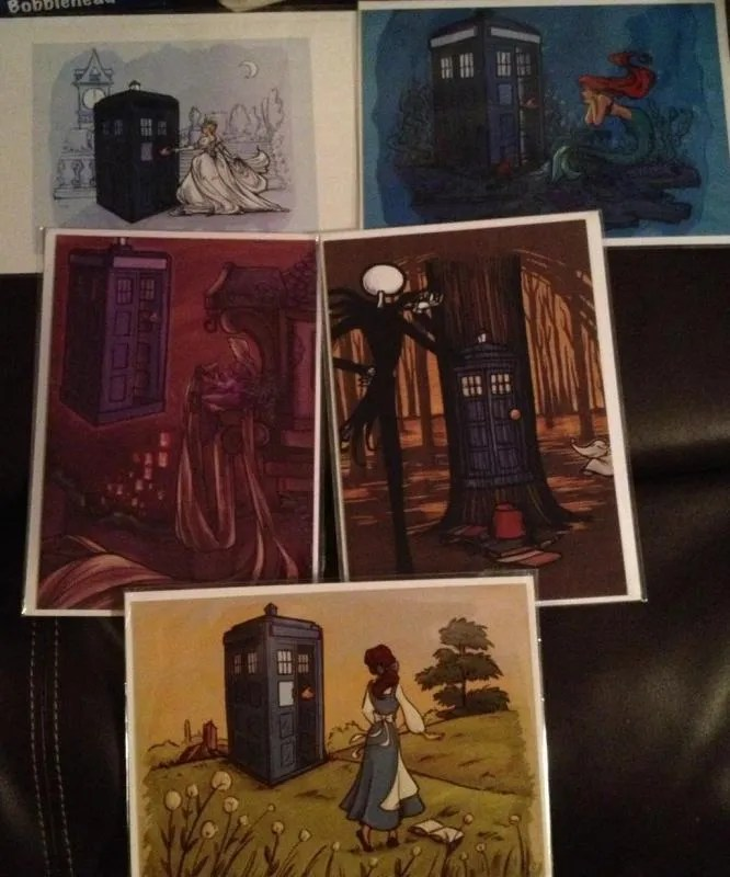 Khallion Doctor Who prints
