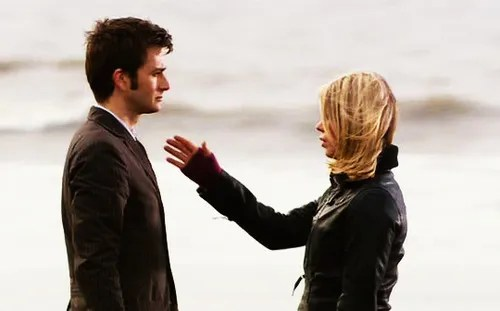 Doctor Who Rose and Ten Bad Wolf Bay