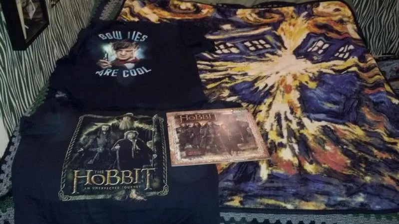 Hobbit and Doctor Who goodies