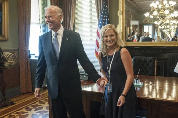 Leslie and Joe Biden