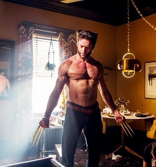 X-Men Hugh Jackman Wolverine Shirtless