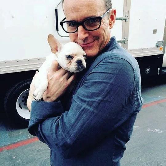 clark gregg puppy