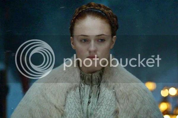 Sansa Stark in Unbowed, Unbent, Unbroken