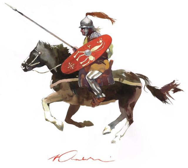 Cavalier gaulois