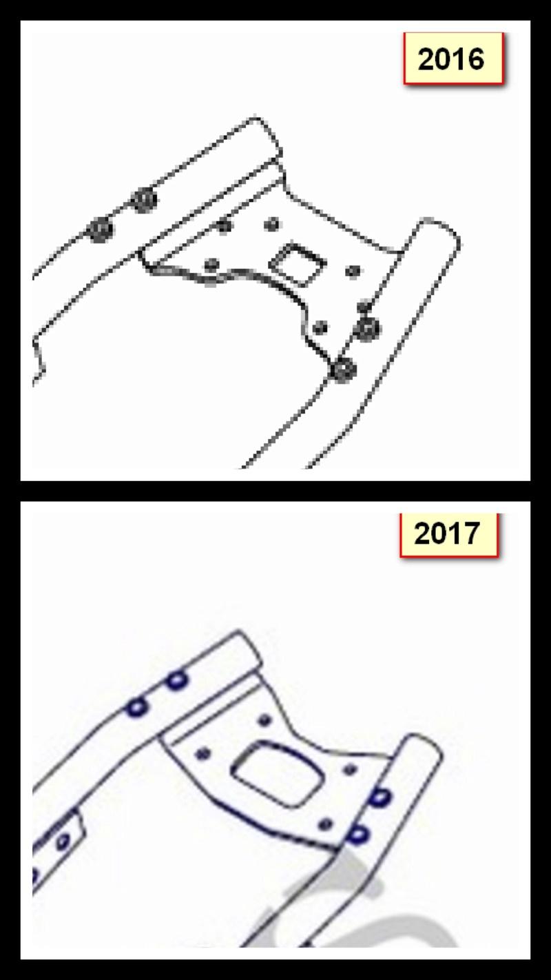 Adaptation optique 2017 sur modèle 2015