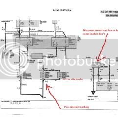 Mercedes Benz Sl500 Wiring Diagram Well Pump Float Switch One Aux Fan Bad? - Mercedes-benz Forum