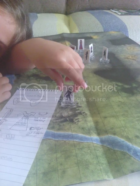 Rosamía: Ninja en el mapa de la caja