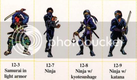Rosamía: Samurai y Ninjas