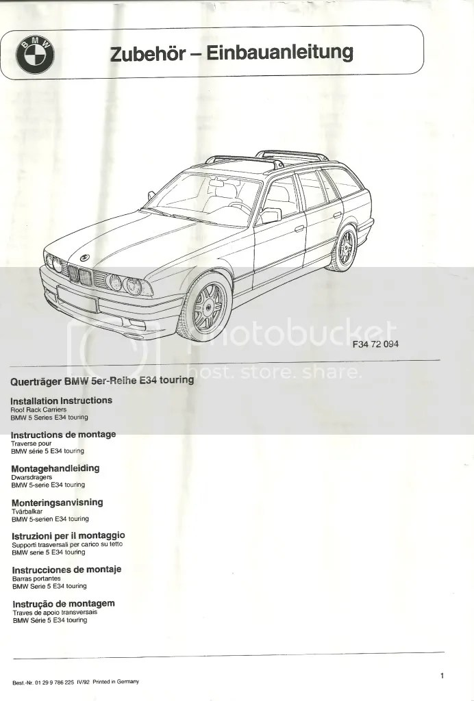 Anyone know of any good roof racks and boxes for the E34