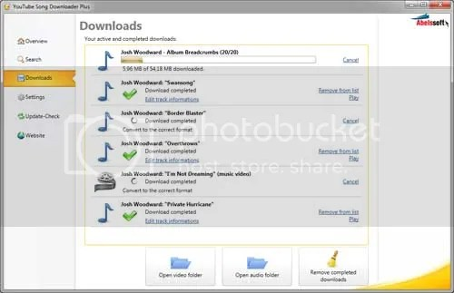 YouTube Song Downloader - Download