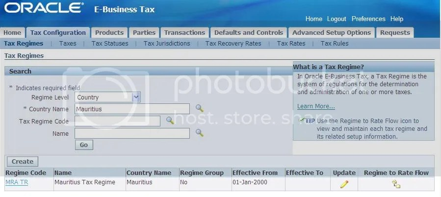 setup E-Business Tax « Oracle Applications