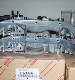 5sfe Oil Pump - 5sfe valve clearances and oil weight at 100k toyota