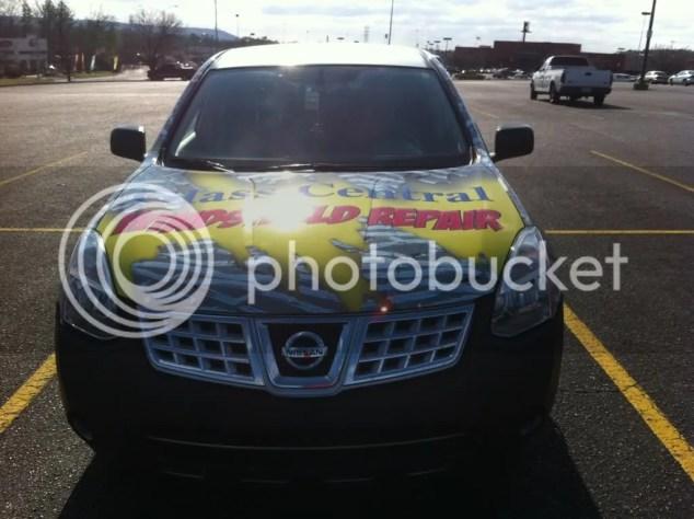 Car Wrap On The Car Windshield Repair Forum