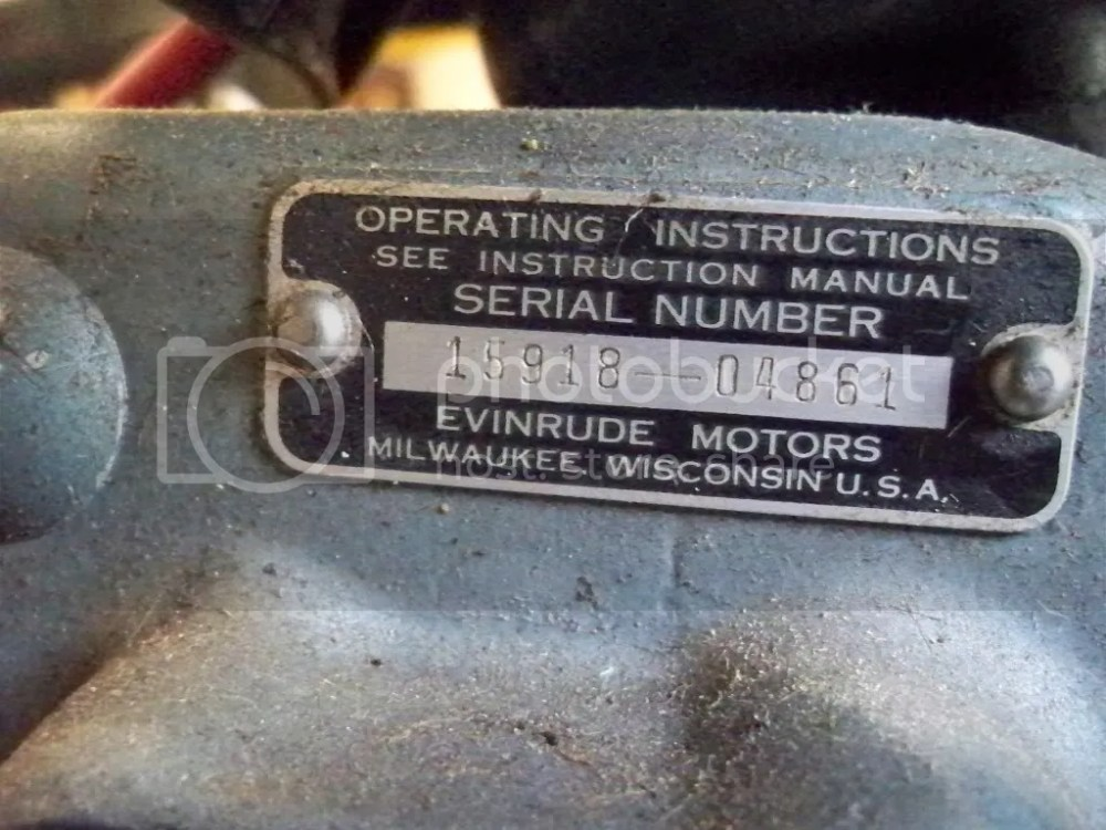 medium resolution of 15hp evinrude year question