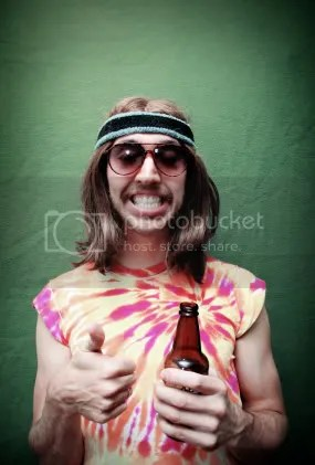 Cheesy Hippie Dude