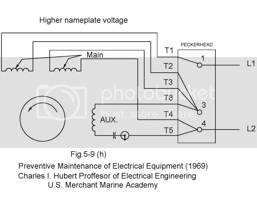 hight resolution of 220v single phase motor install and wiring page 5 home model