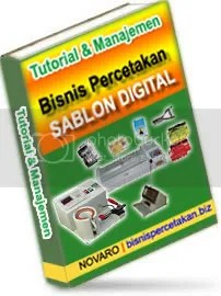 Tutorial Sablon Manual / Digital