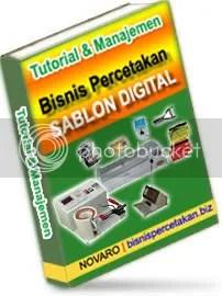 Tutorial Sablon Manual / Digital