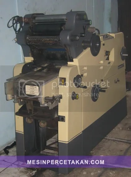 Gestetner 311 | MULUS - REGISTER SEPARASI
