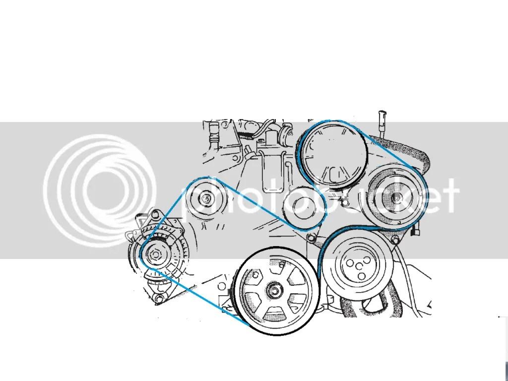 2008 audi a6 serpentine belt diagram