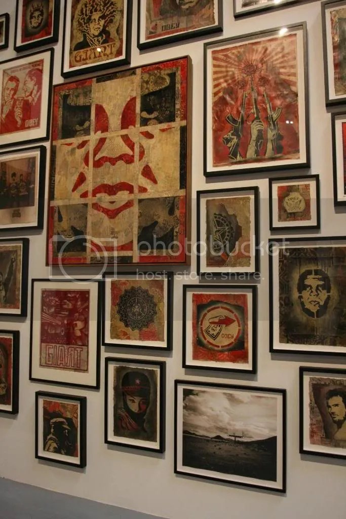 shepard fairey, obey, moca, art in the streets, street art, graffiti, geffen contemporary