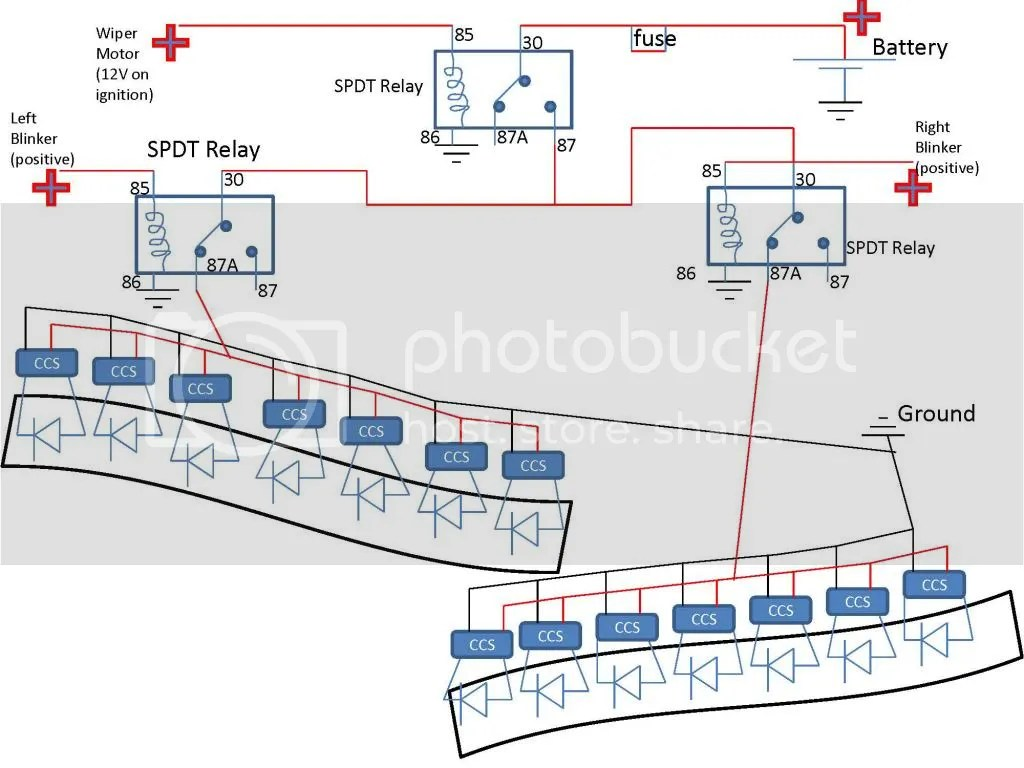 hight resolution of turn signal led drls page 2 signal wiper motor wiring diagram sequential turn signal schematic