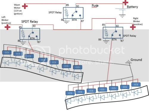small resolution of turn signal led drls page 2 signal wiper motor wiring diagram sequential turn signal schematic