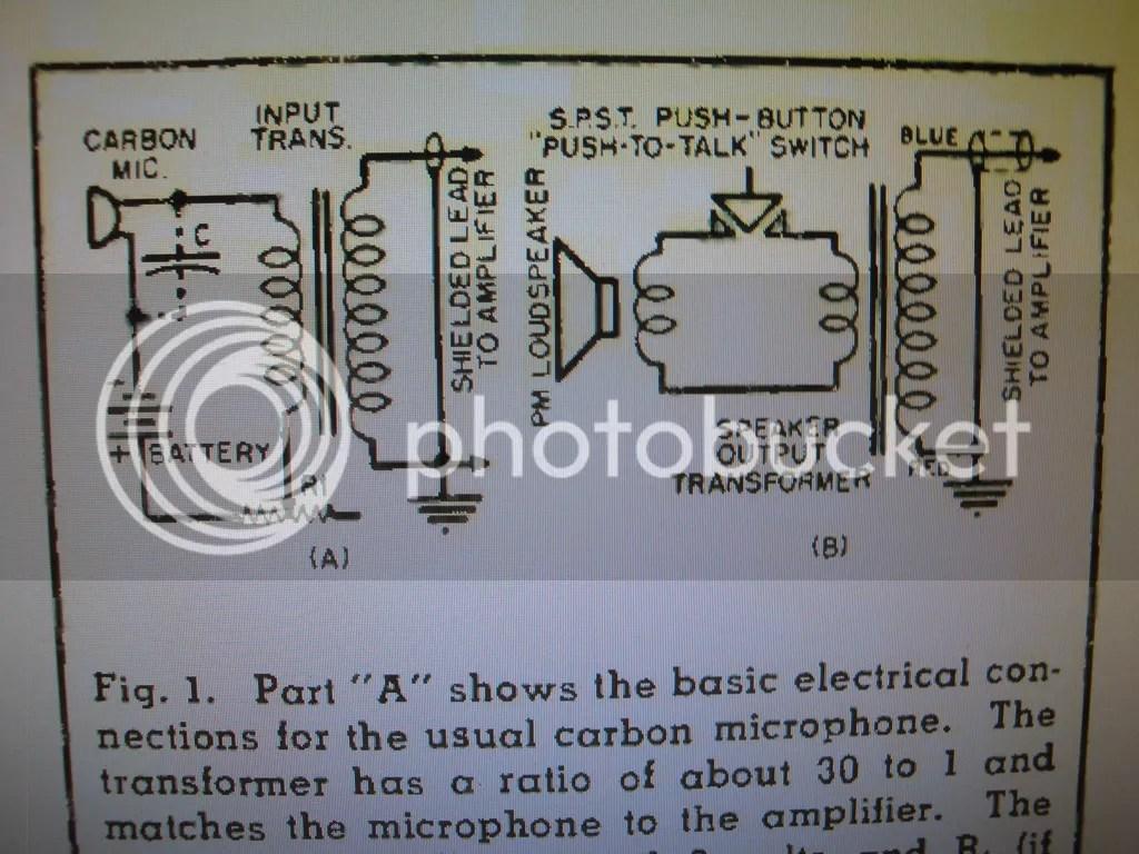Carbon Microphone Circuit