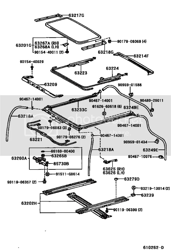 Drain diagram toyota 4runner