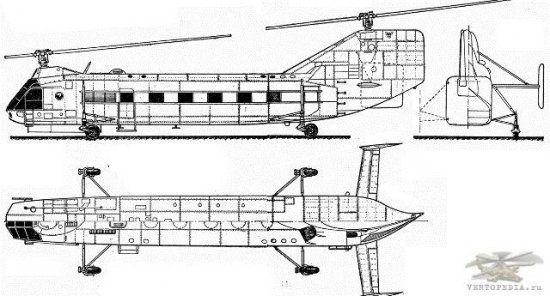 Helicopter Yakovlev Yak-24 « Encyclopedia of safety
