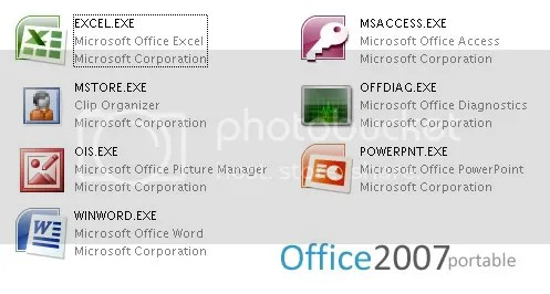 """Office 2007 Portable"""