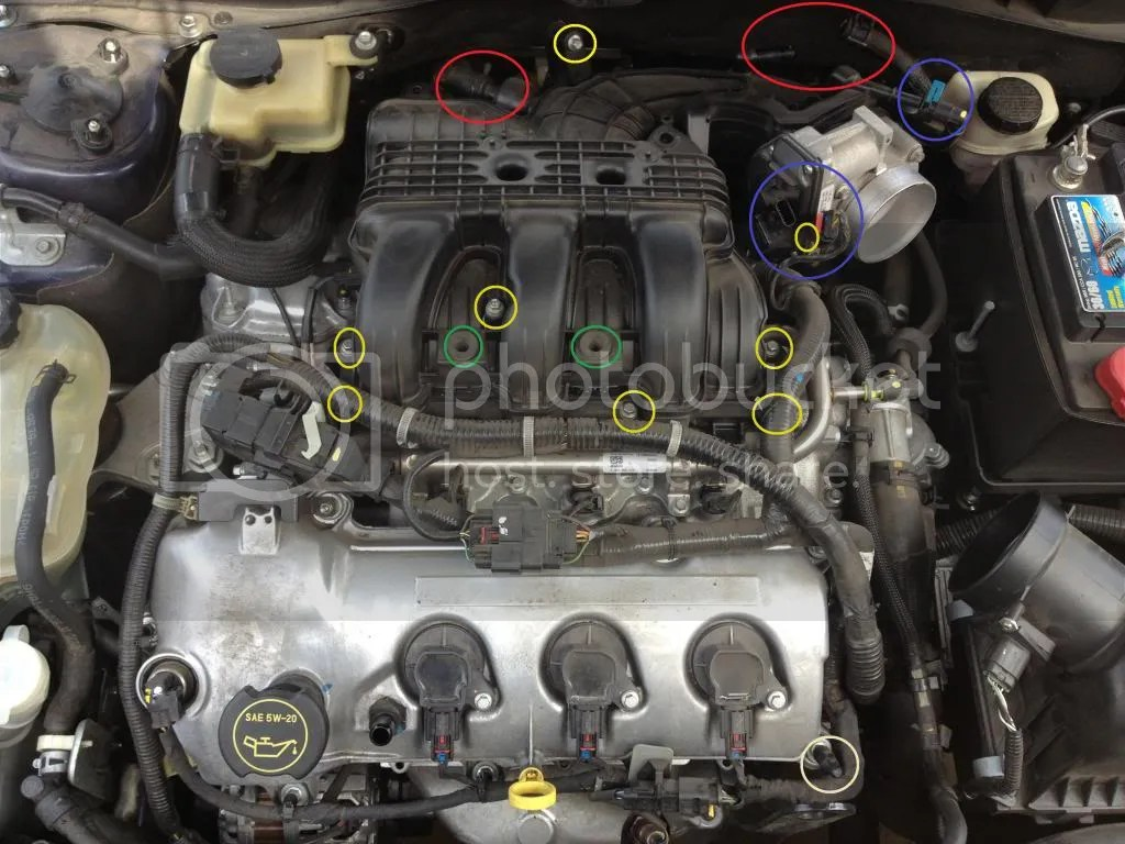 2005 Mazda Tribute 2 3 Engine Diagram