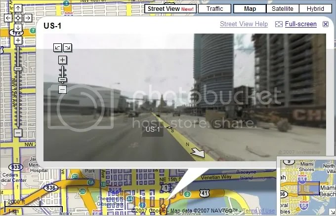 Google Maps Street View Active For Miami Boom Or Bust Miami - Google satellite maps street view