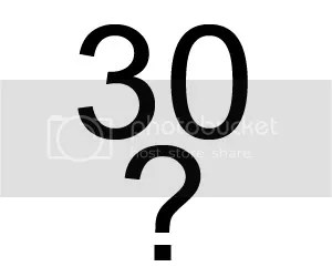 Thirty?