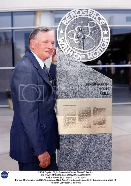 Neil Armstrong Aerospace Walk of Honor