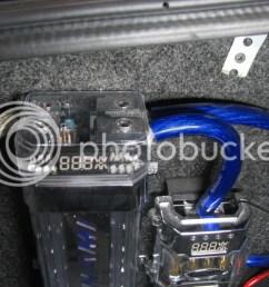 amp capacitor wiring [ 1024 x 768 Pixel ]