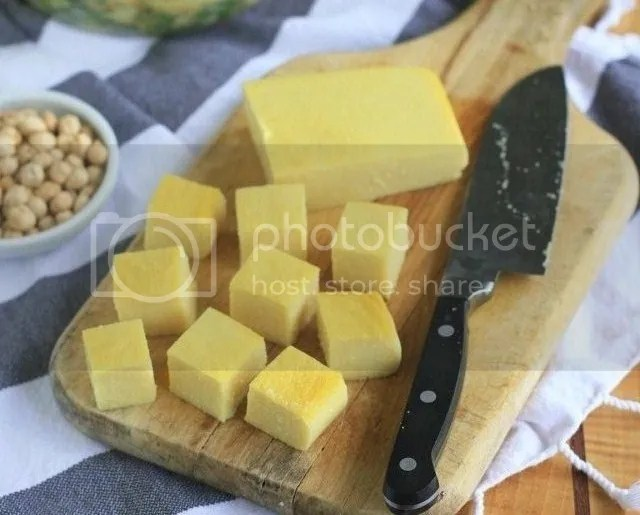 burmese chickpea tofu