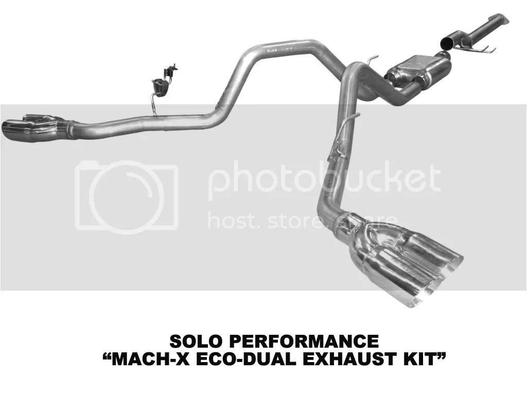 Famous Ford Truck Dual Exhaust System