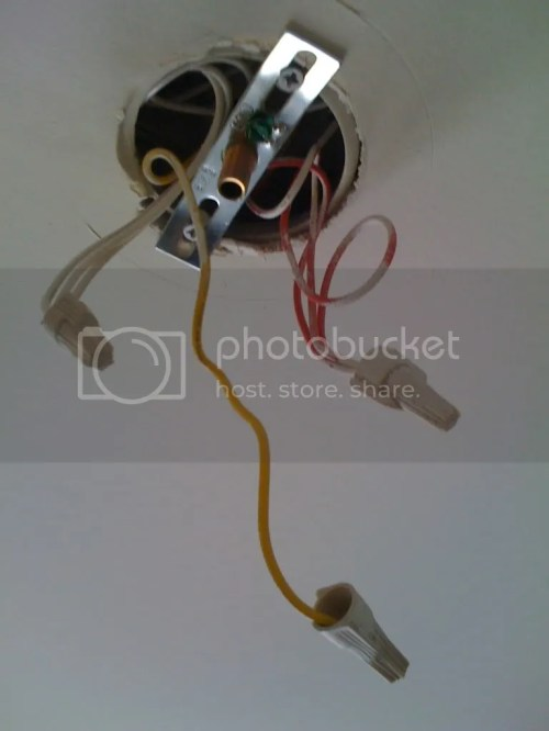 small resolution of installing ceiling light