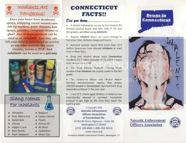 Drugs In CT Pamphlets – Narcotic Enforcement Officers Association