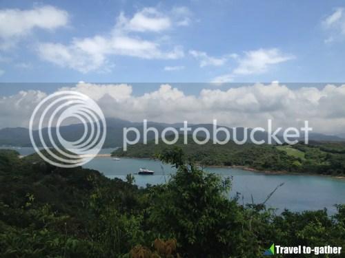 Yim Tin Tsai hill view