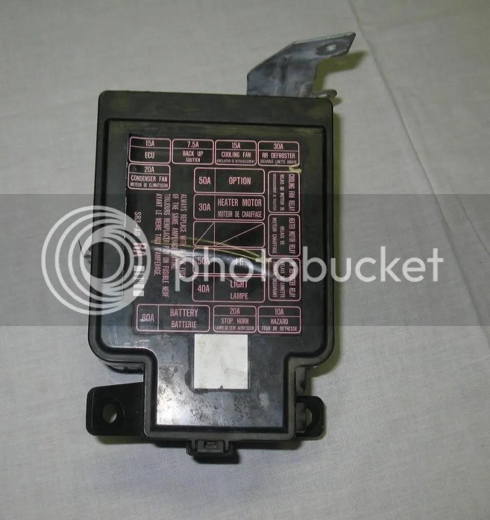Fuse Box Diagram Civic 9295