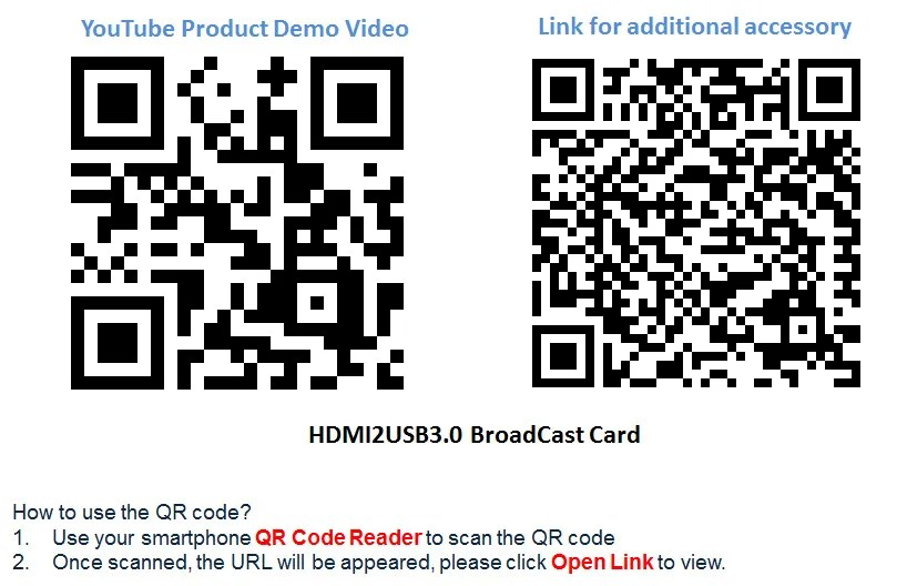 HDMI to USB Capture Card DSLR Camera Live Stream Broadcast