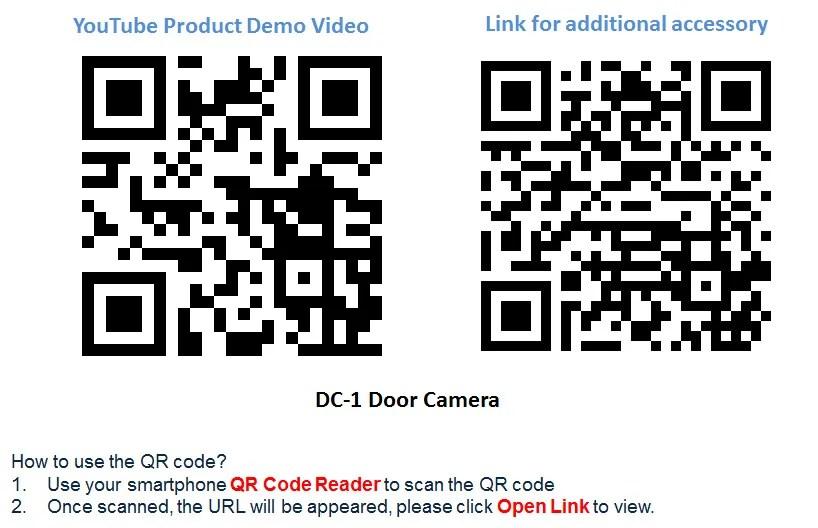 Wireless Wifi Door Peephole Camera Motion Detect Recording