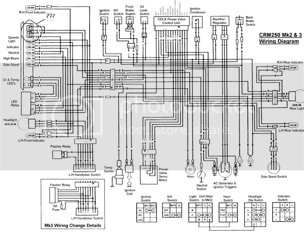 xs650 simple wiring diagram electronic ignition
